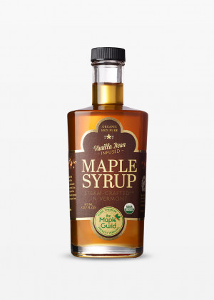 Organic Vanilla Bean Infused Syrup